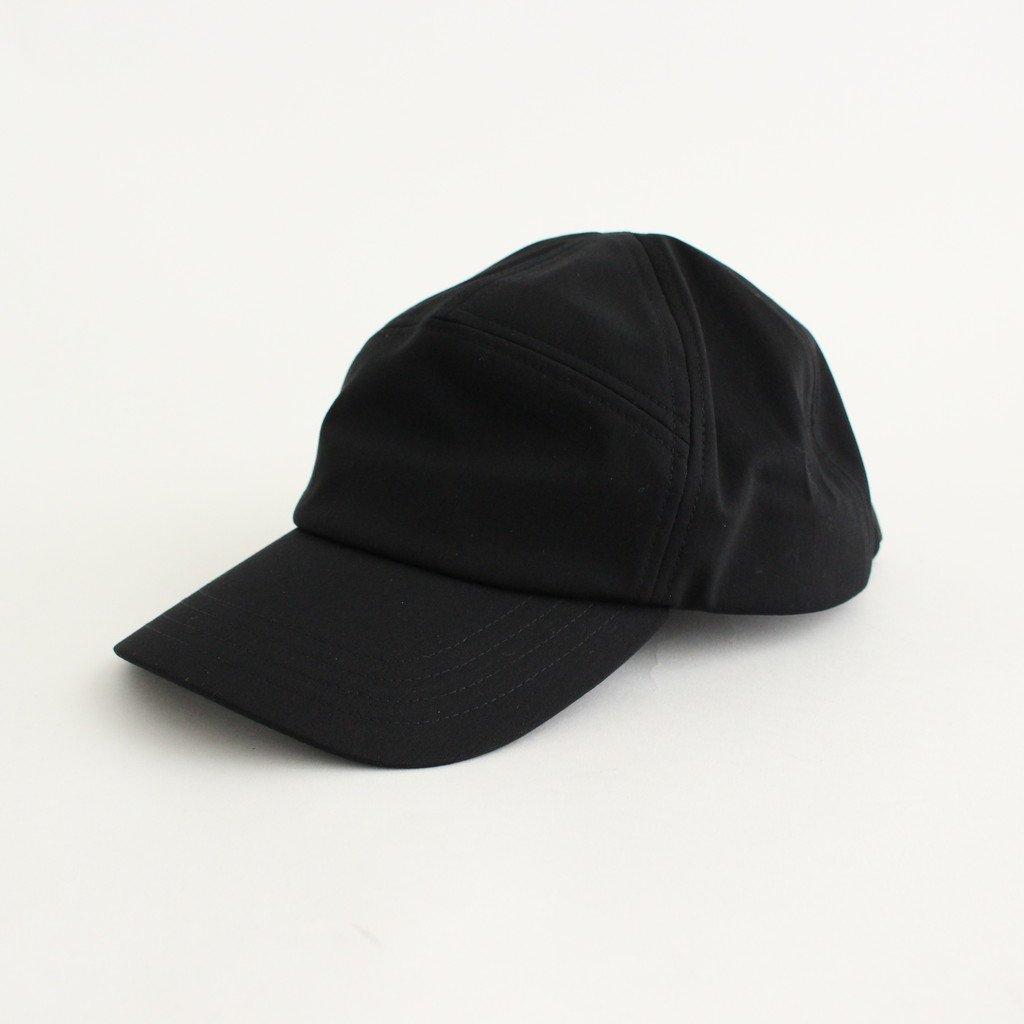 CURLY|UPLIGHT CAMP CAP PLAIN #BLACK [211-52031SD]