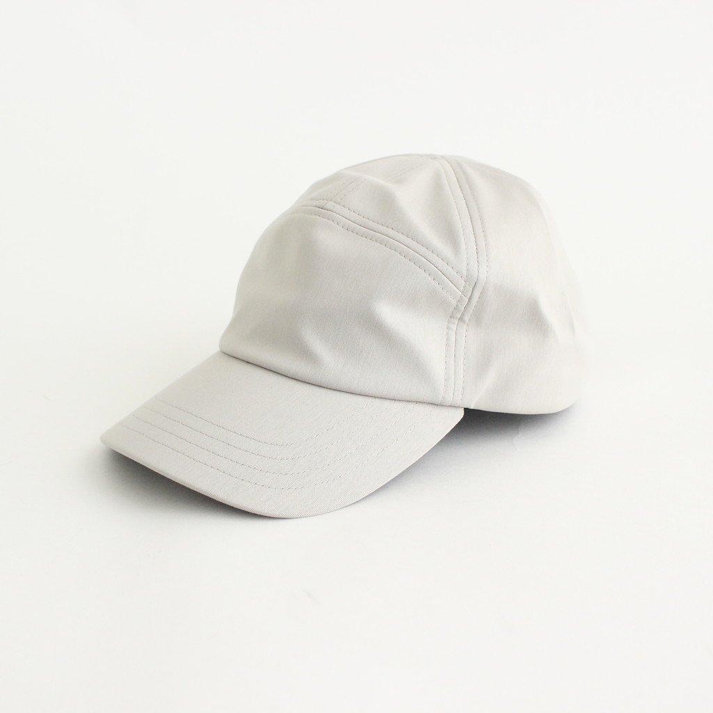 CURLY|UPLIGHT CAMP CAP PLAIN #LT.GRAY [211-52031SD]