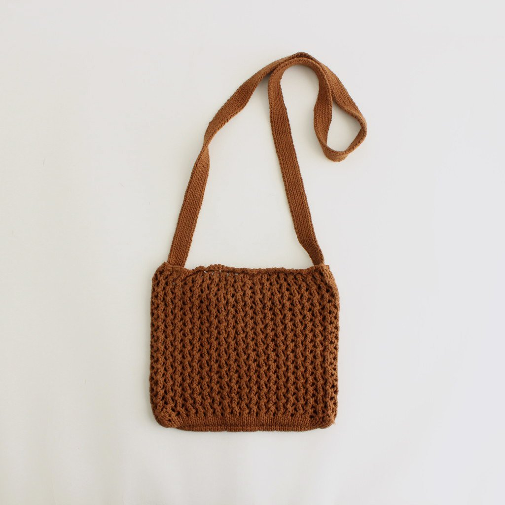 ETHOS|CHILL KNIT SACOSH #BROWN [ET21SS-H001]