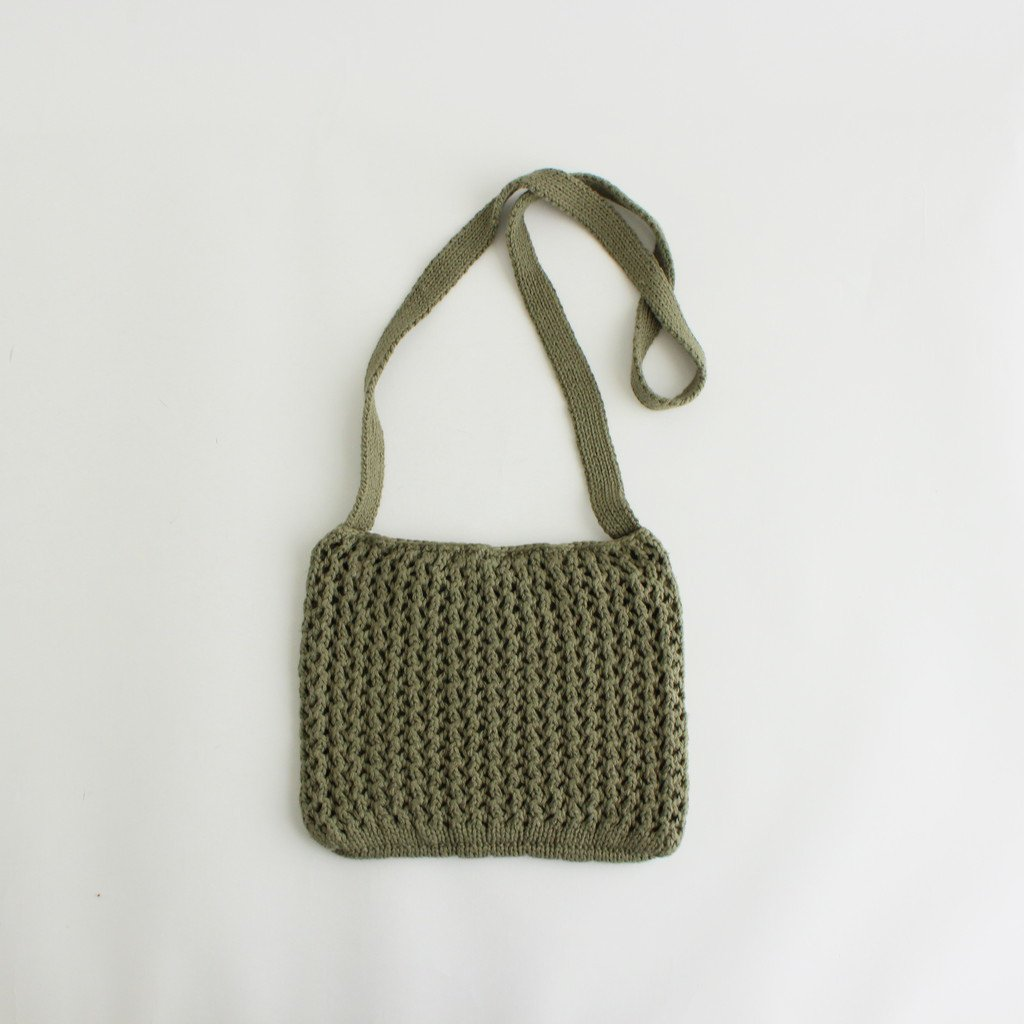 ETHOS|CHILL KNIT SACOSH #OLIVE [ET21SS-H001]