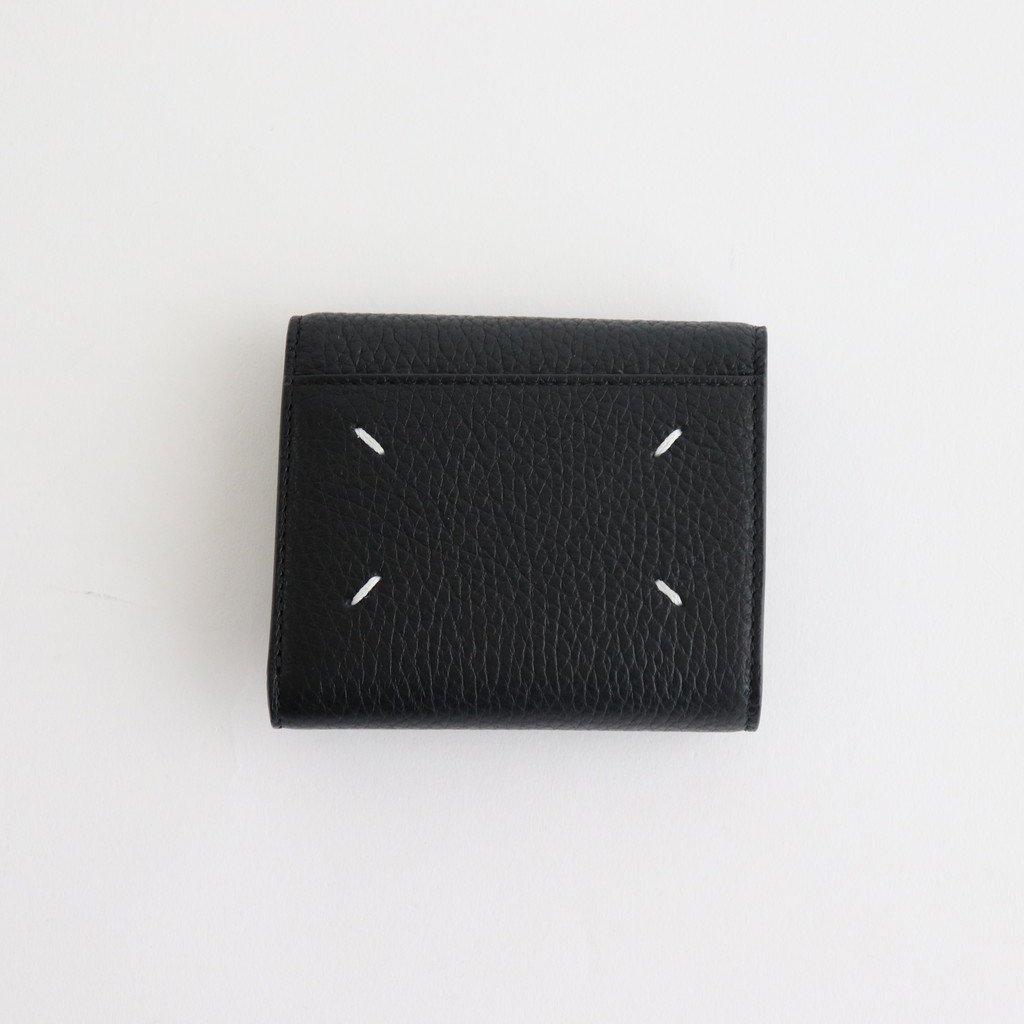 Maison Margiela|SNAPED 3 FOLDS WALLET #BLACK [S55UI0296]