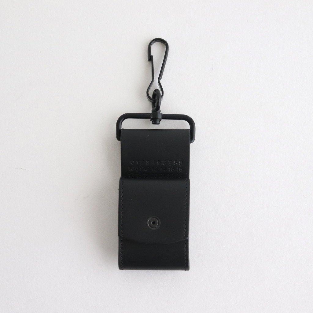 Maison Margiela|LEATHER EARPHONE HOLDER #BLACK [S35VT0079]