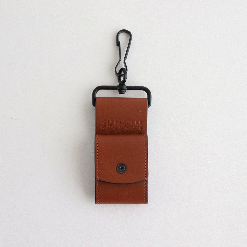 Maison Margiela|LEATHER EARPHONE HOLDER #BUNGEE CORD [S35VT0079]
