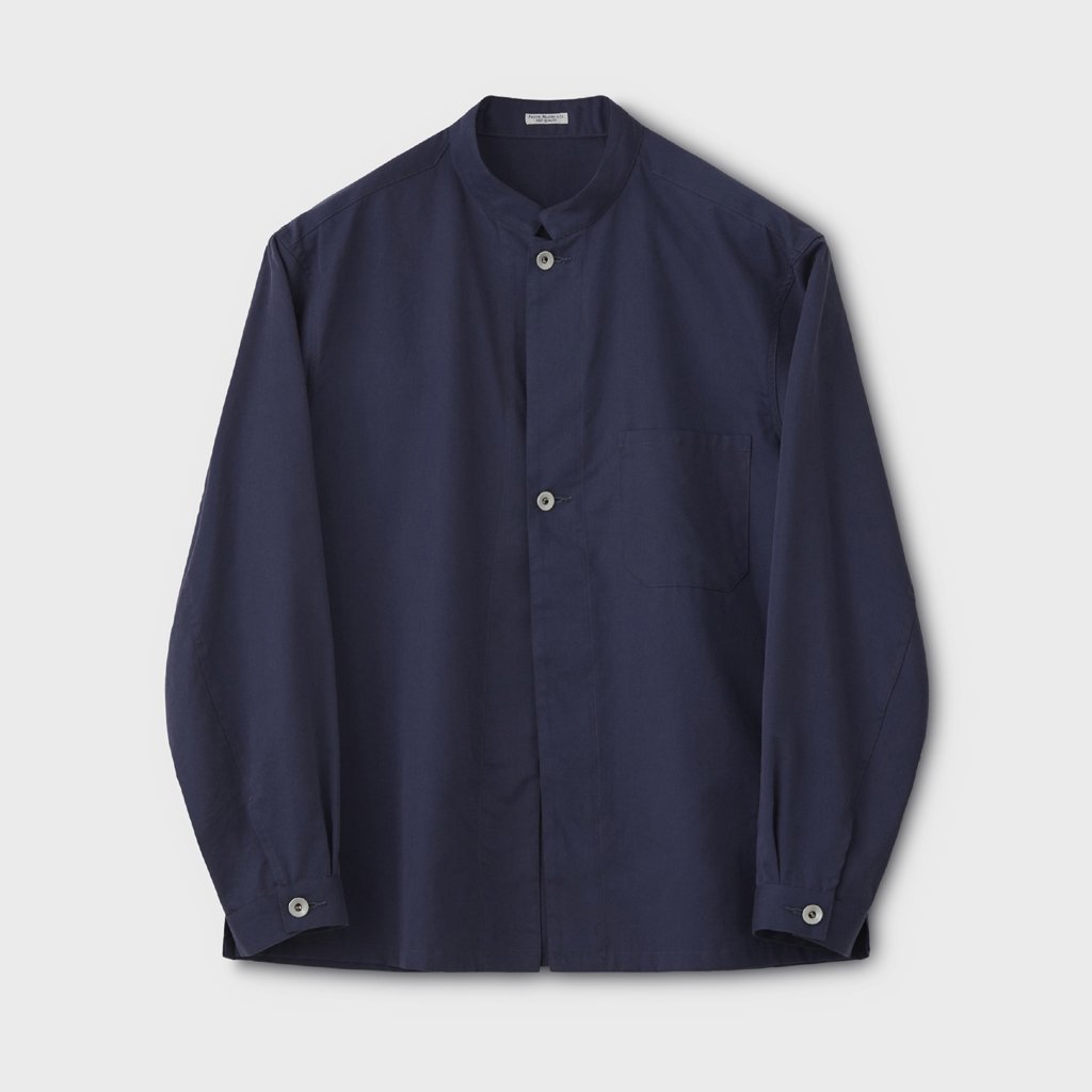 PHIGVEL MAKERS & Co.|WORKADAY SHIRT JACKET #FRENCH NAVY [PMAL-SJ02]