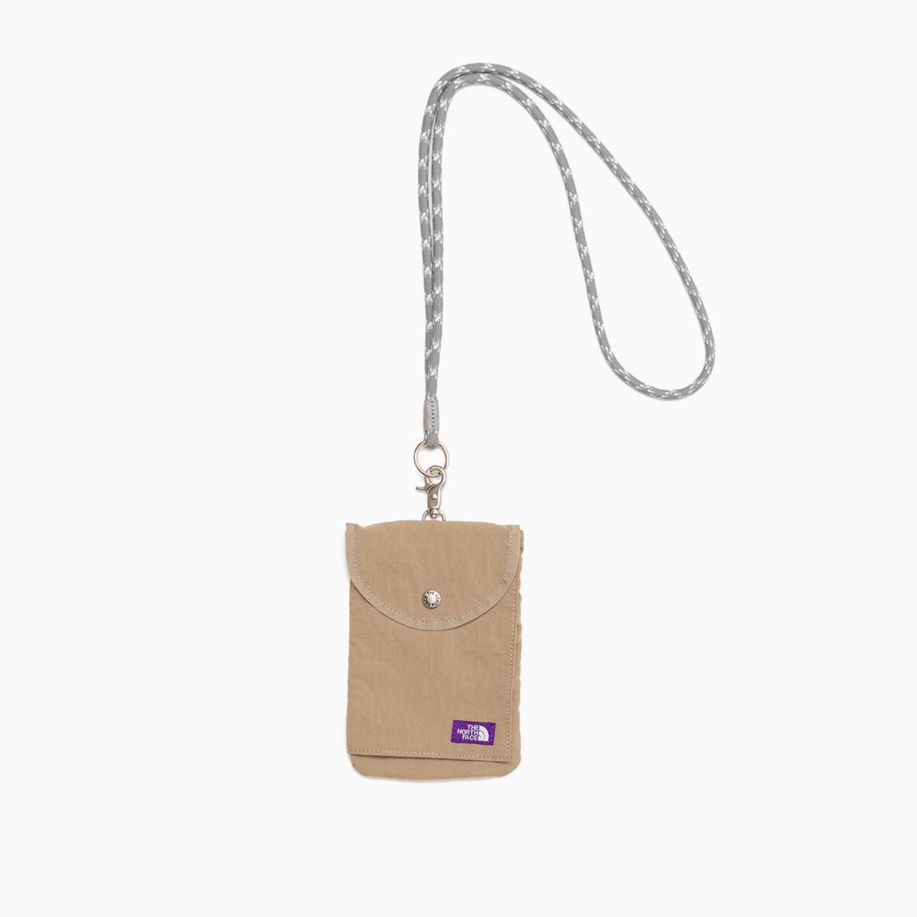 THE NORTH FACE PURPLE LABEL|LOUNGE UTILITY CASE #BEIGE [NN7104N]