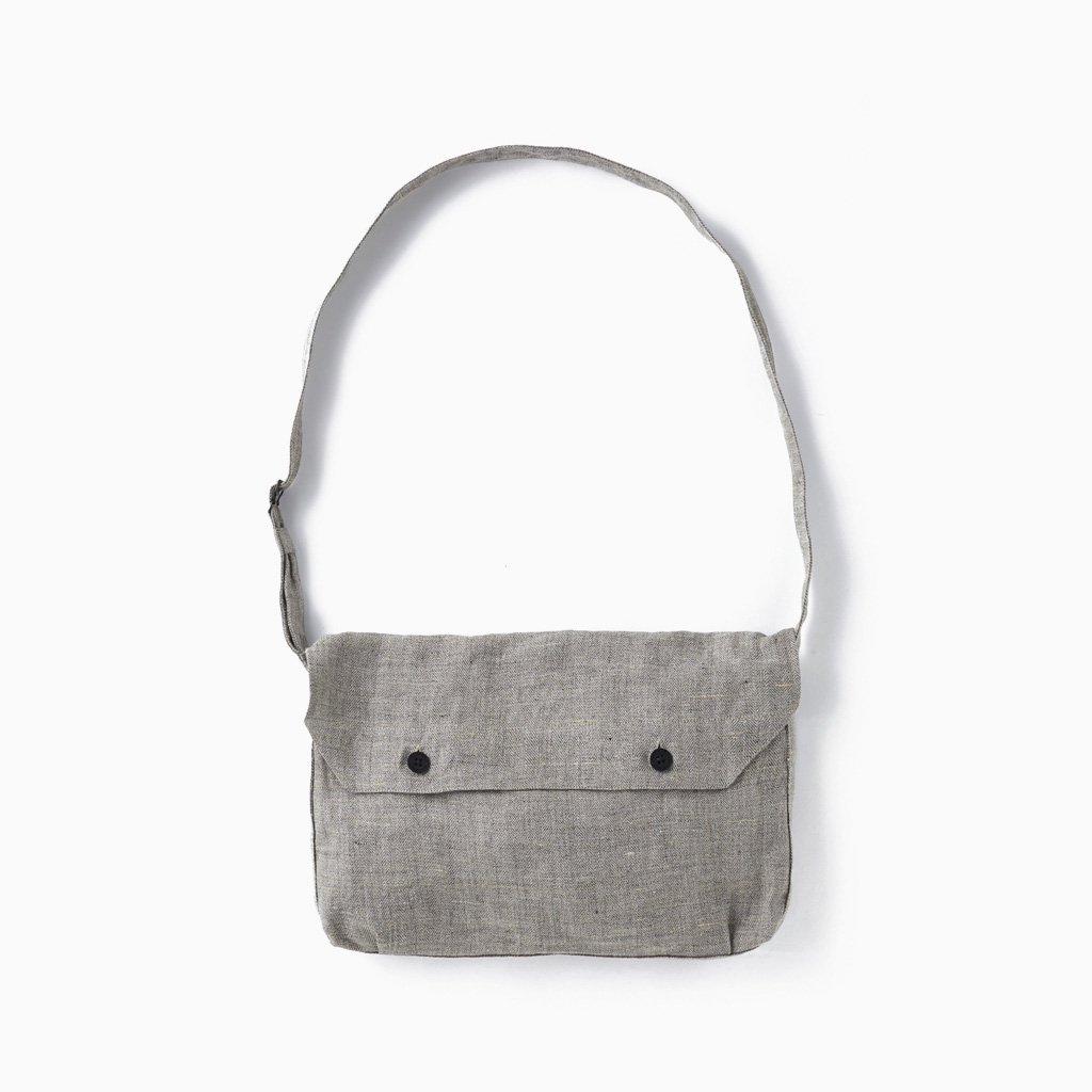 OLD JOE BRAND|BREAD BAG #HERRINGBONE LINEN [211OJ-AC05]