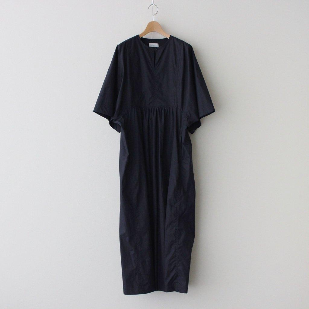 Phlannel|HIGH COUNT YARN TWILL CLOTH TUNIC DRESS #NAVY [BBZ1011509A0005]