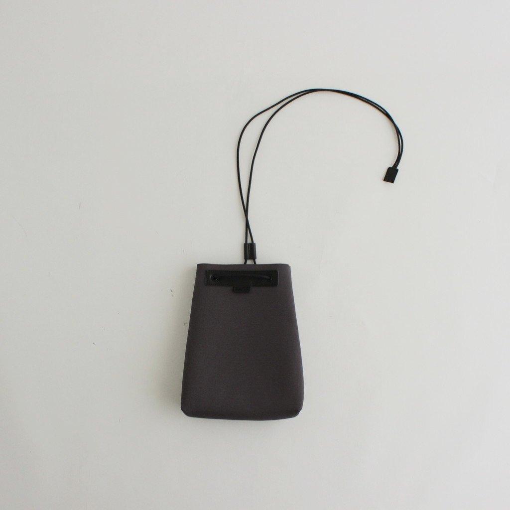CURLY BAUM BAG #CHARCOAL [212-52051]