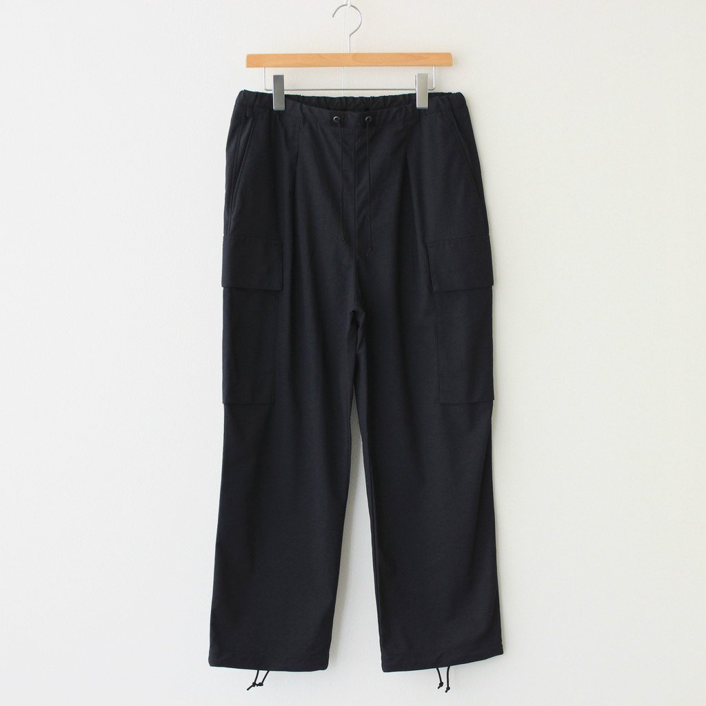 CURLY|PROSPECT CARGO TROUSERS #BLACK [212-43061]