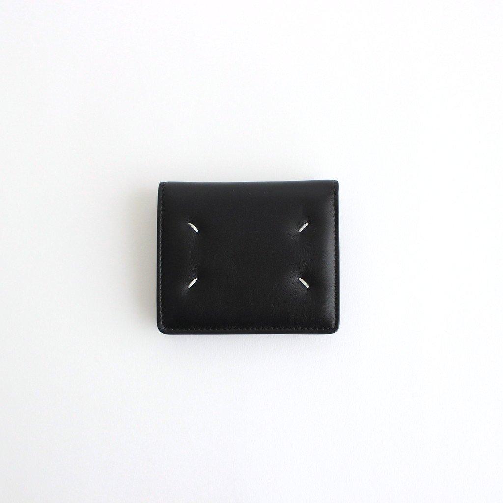 Maison Margiela|COMPACT BI FOLD #BLACK [S56UI0140]