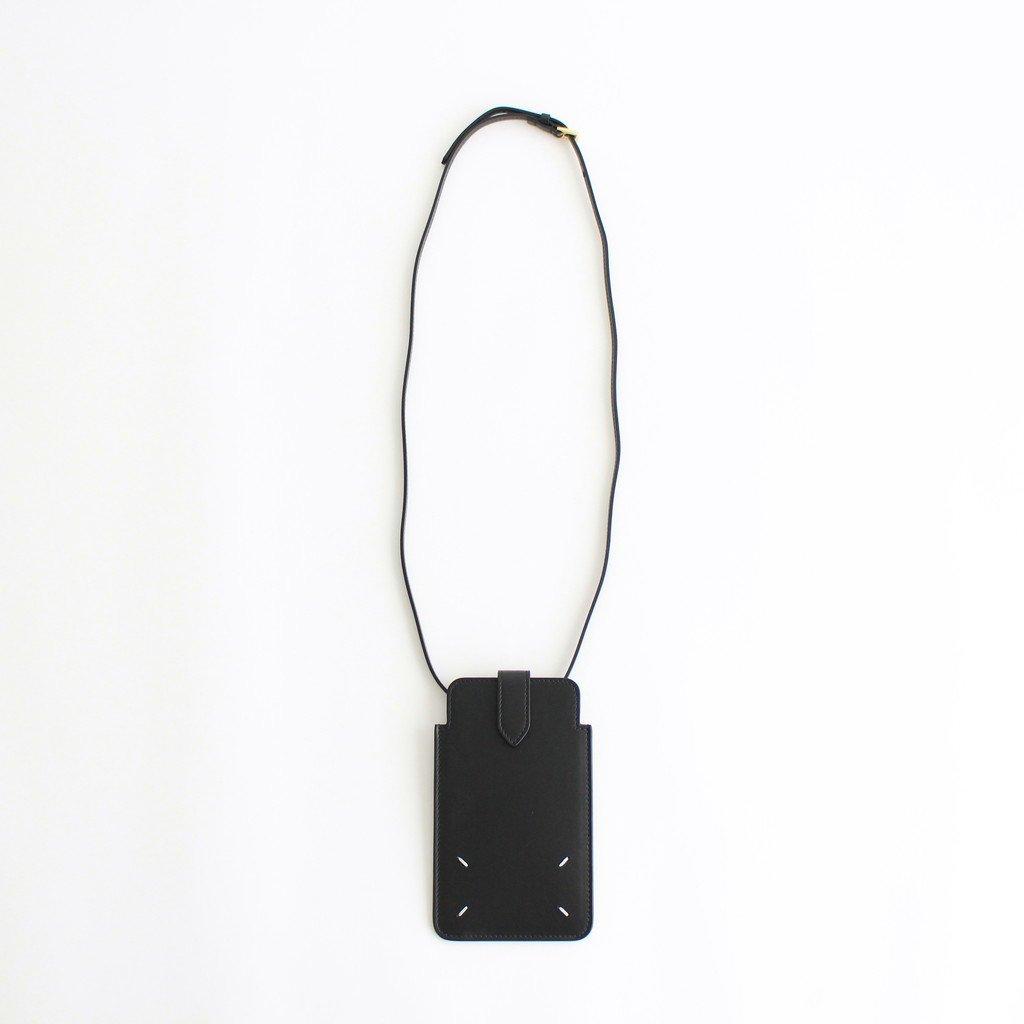 Maison Margiela|PHONE NECK POUCH #BLACK [S56UI0211]