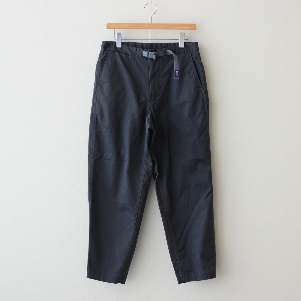 THE NORTH FACE PURPLE LABEL|STRETCH TWILL WIDE TAPERED PANTS #DIM GRAY [NT5052N]