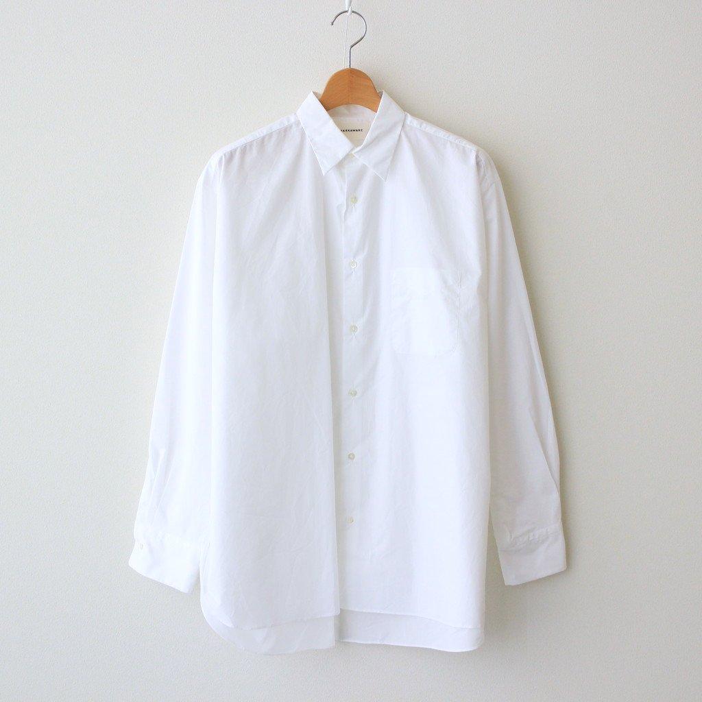 MARKAWARE NEW COMFORT FIT SHIRT #WHITE [A21C-02SH01C]