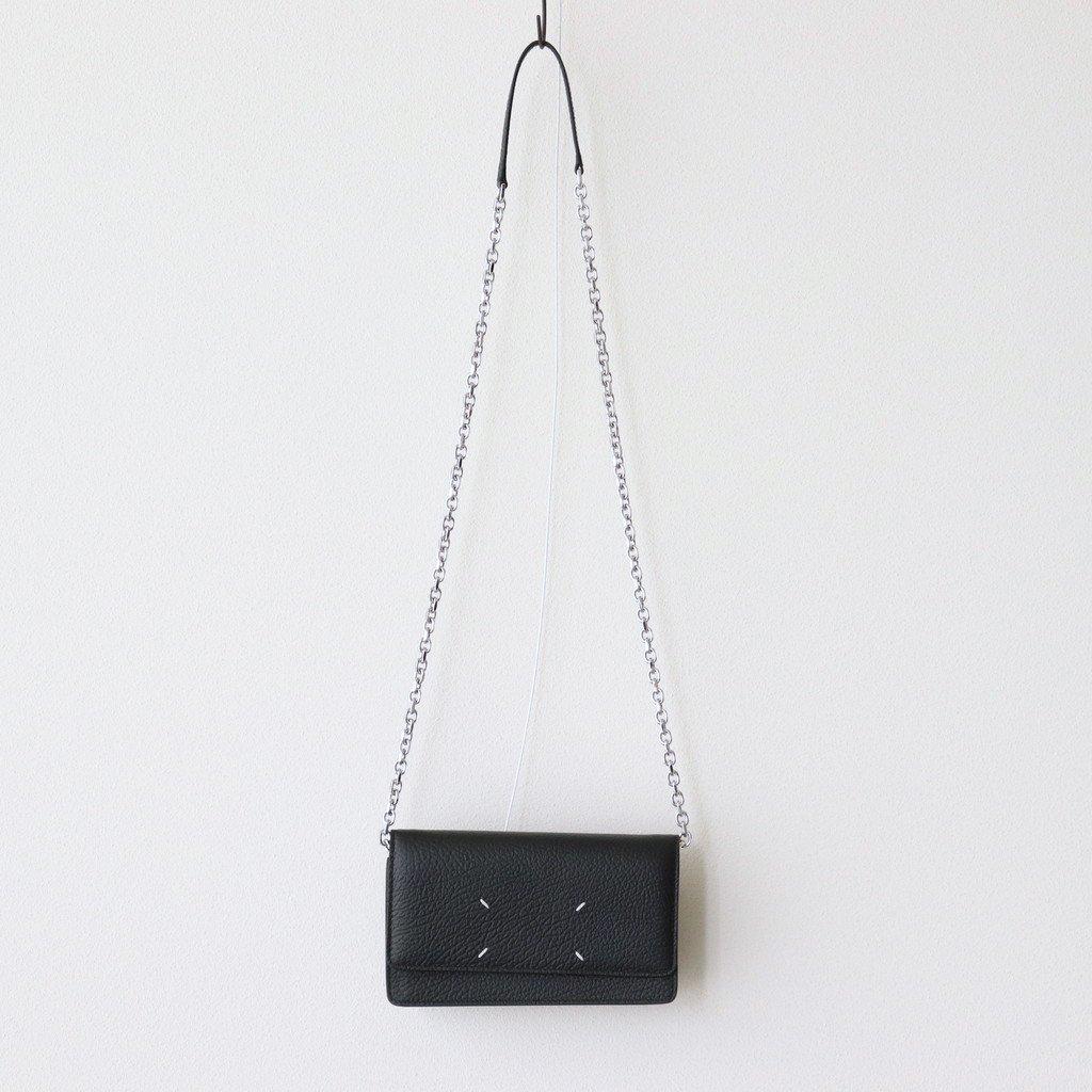 Maison Margiela|LARGE CHAIN WALLET #BLACK [S56UI0147]
