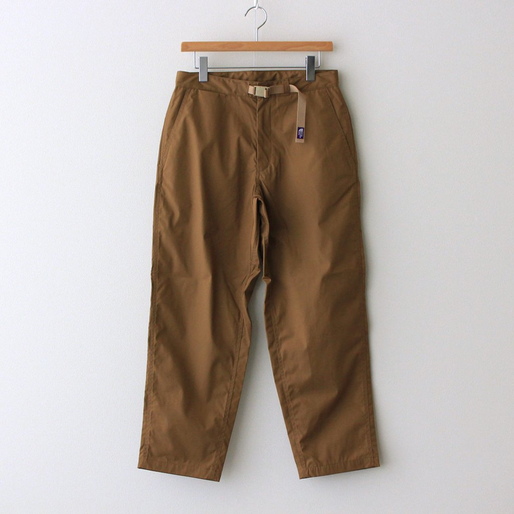 THE NORTH FACE PURPLE LABEL|65/35 HOPPER FIELD PANTS #COYOTE [NP5100N]