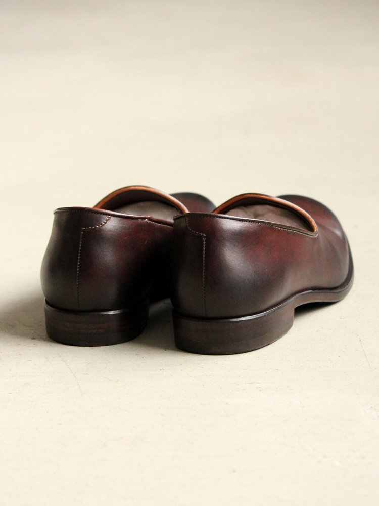 Slip-on(Cow Leather) #BROWN