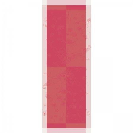 【撥水GS】テーブルランナー スゥフル コーラルピンク