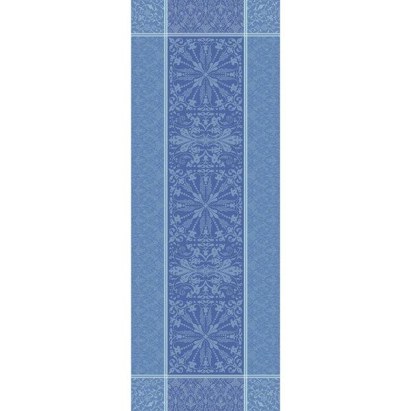 ガルニエティエボー 【撥水GS】テーブルランナー カッサンドル サファイア