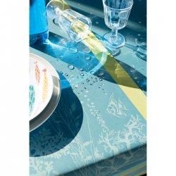 【撥水GS】テーブルランナー コーラル ラグーン