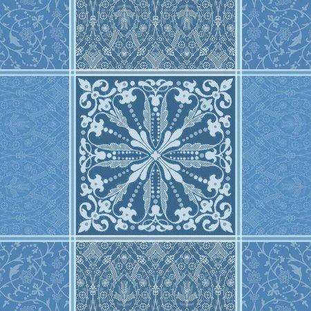ナプキン カッサンドル サファイア(4枚セット)