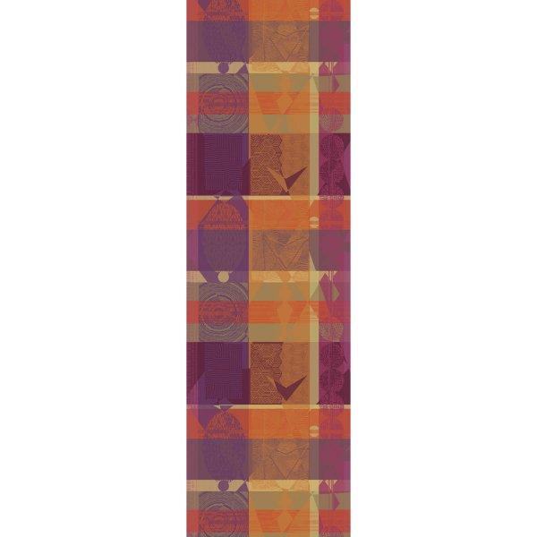ガルニエティエボー 【撥水コート】テーブルランナー ミルティンガリ ルージュ