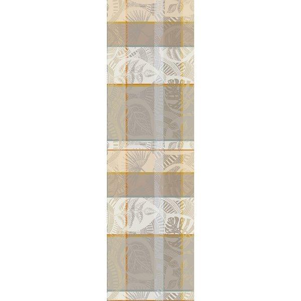 ガルニエティエボー 【撥水コート】テーブルランナー ミルトロピク ココ