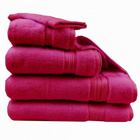 コットンタオル エレア フクシア(赤紫)