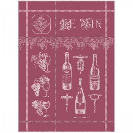 キッチンタオル(トーション)ミニ ワイン プルーン