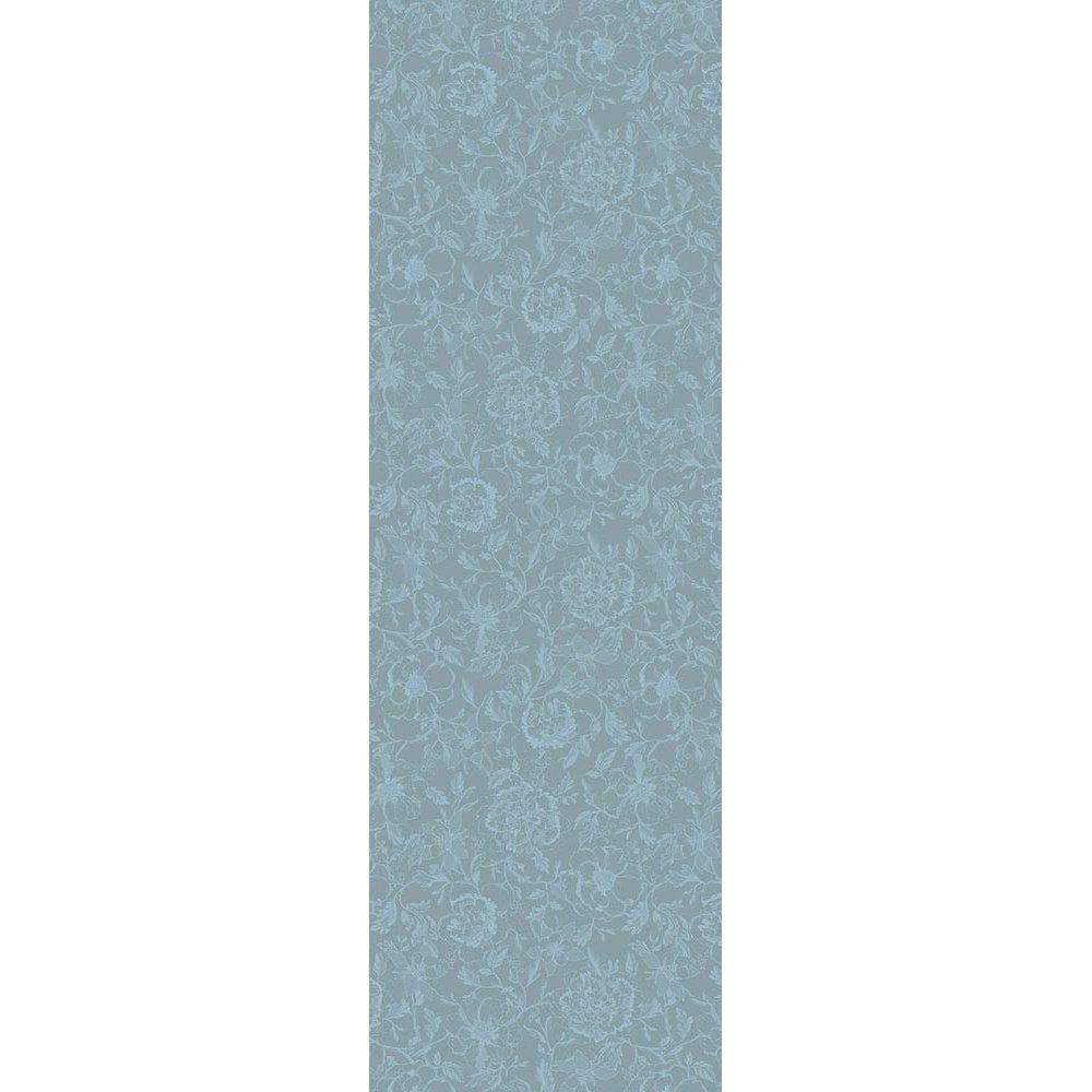 【撥水コート】テーブルランナー ミルシャルム ルイ16世ブルー