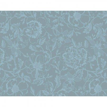 【撥水コート】ランチョンマット ミルシャルム ルイ16世ブルー(4枚セット)