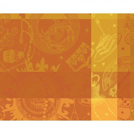 【撥水コート】ランチョンマット ミルバンケット オークル (4枚セット)