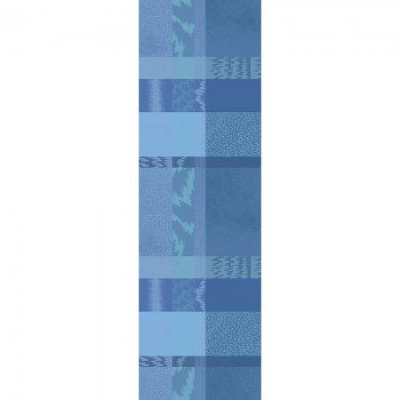 【撥水コート】テーブルランナー ミルマティエール ブルー