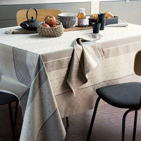 テーブルクロス(撥水なし) ミルバスティード ナチュレル
