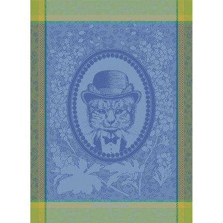 キッチンタオル(トーション) ムッシュー キャット ブルー
