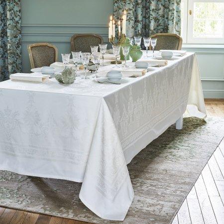 テーブルクロス(撥水なし) ボールガール ホワイト