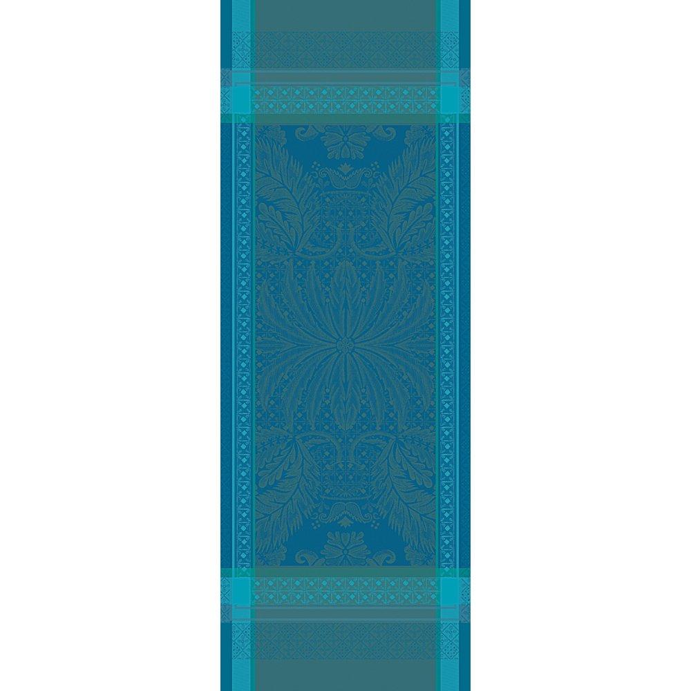 【撥水GS】テーブルランナー イサフィル エメラルド