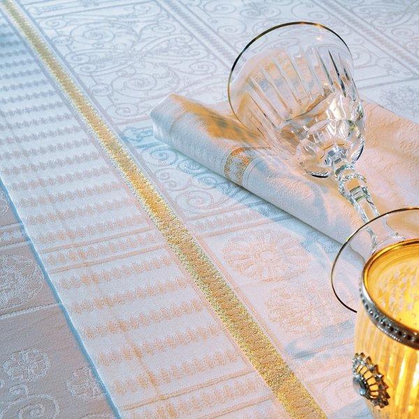 【撥水GS】テーブルランナー テュイルリー ゴールド
