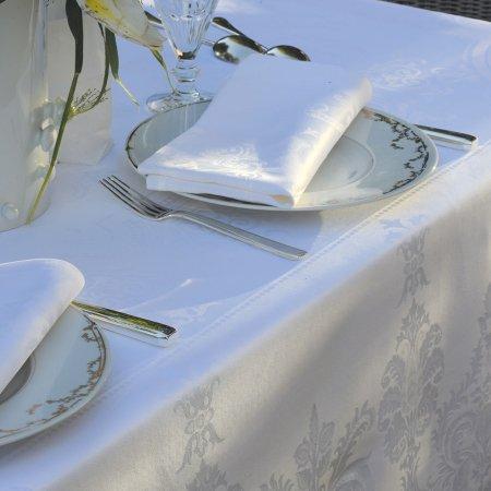 ナプキン ボールガール ブラン ホワイト(4枚セット)