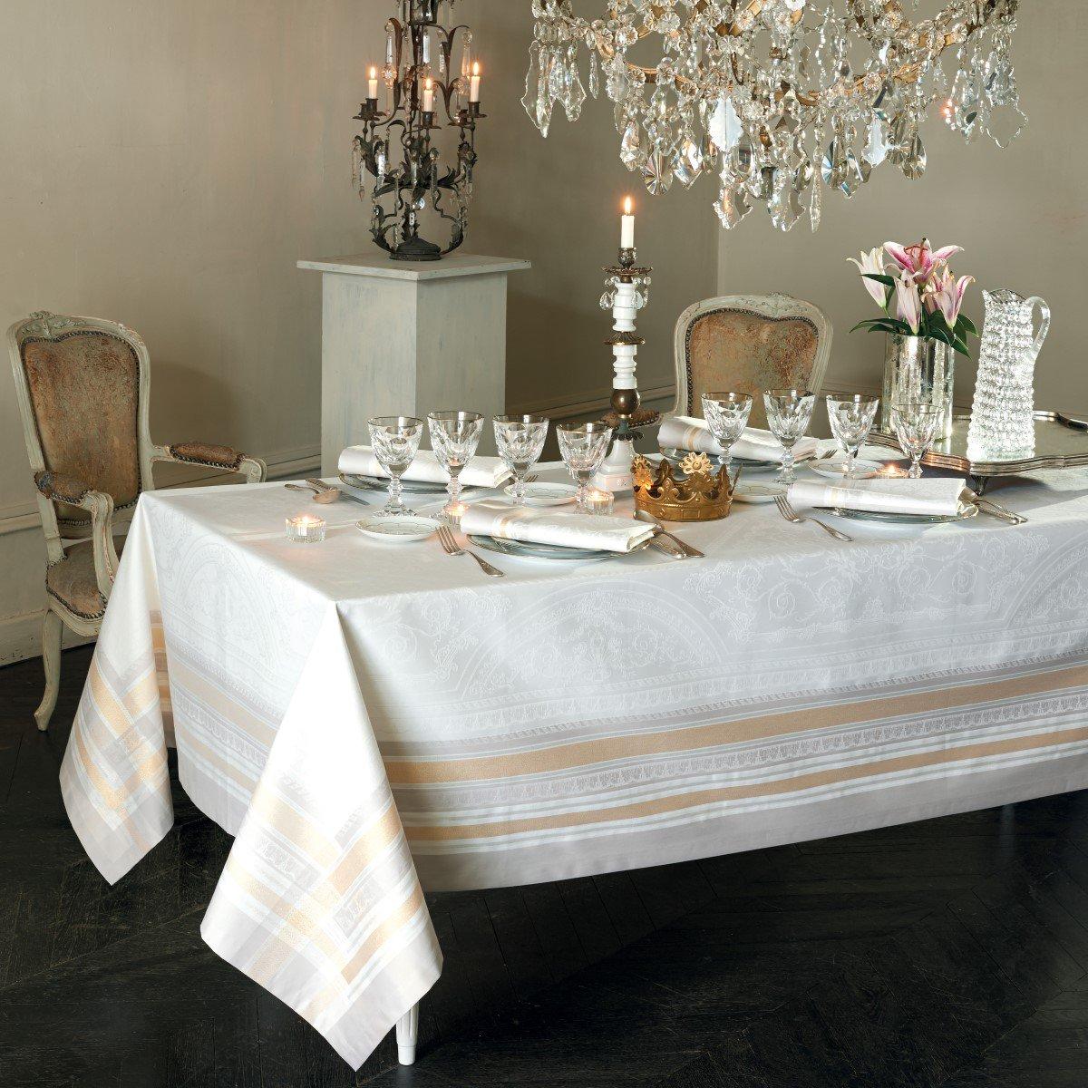 【撥水GS】テーブルクロス ギャルリーデグラス ヴェルメーユ