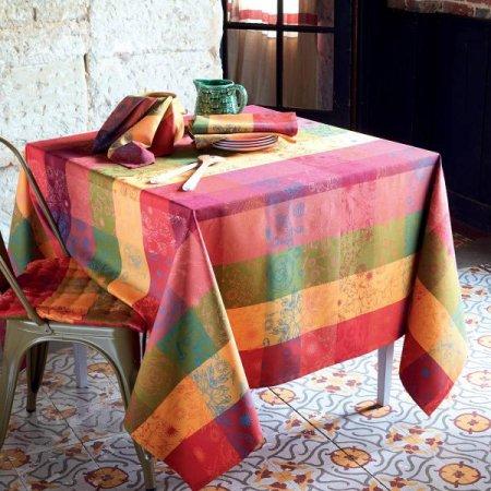テーブルクロス(撥水なし) ミルアルセ ライチ