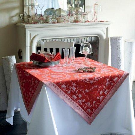 テーブルクロス(撥水なし) クリスマスの夜