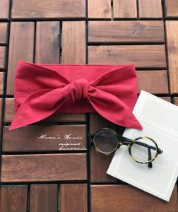 (cp-244)  保冷剤 東炊き レッド 赤 綿100%  節約 快適 エコ 夏 スカーフ ネッククーラー 天然素材 日本製(ハンドメイド)