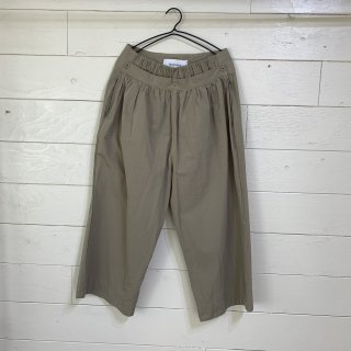 veritecoeur typewriter omi bleached pants(2color)