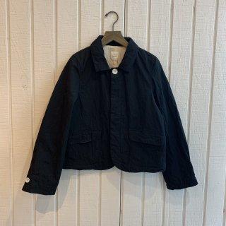Gauze#  コットンナイロンクラシックジャケット BLACK