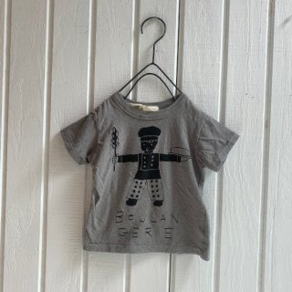 nini  小麦ぼうやTシャツ チャコールグレー11