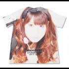 【GUT'S DYNAMITE CABARETS】うさぎのなみ平・顔プリントビッグ メンズ半袖Tシャツ