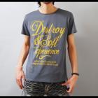 【キレイめにもカジュアルにも使える絶妙ラフプリント!】シンプルプリント メンズ半袖Tシャツ