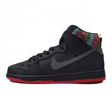 NIKE DUNK HIGH PREMIUM SB BLACK / BLK-CHLLNG