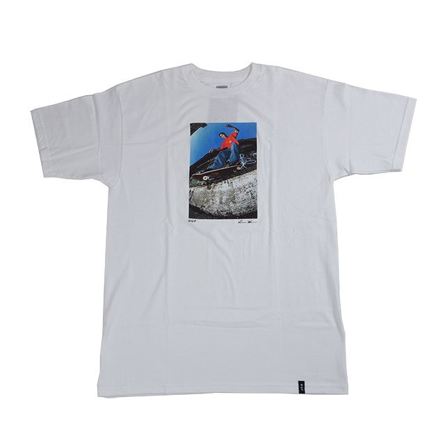 "HUF "" REDA SCOTT JHONSTON BACKSIDE SMITH TEE "" WHITE"