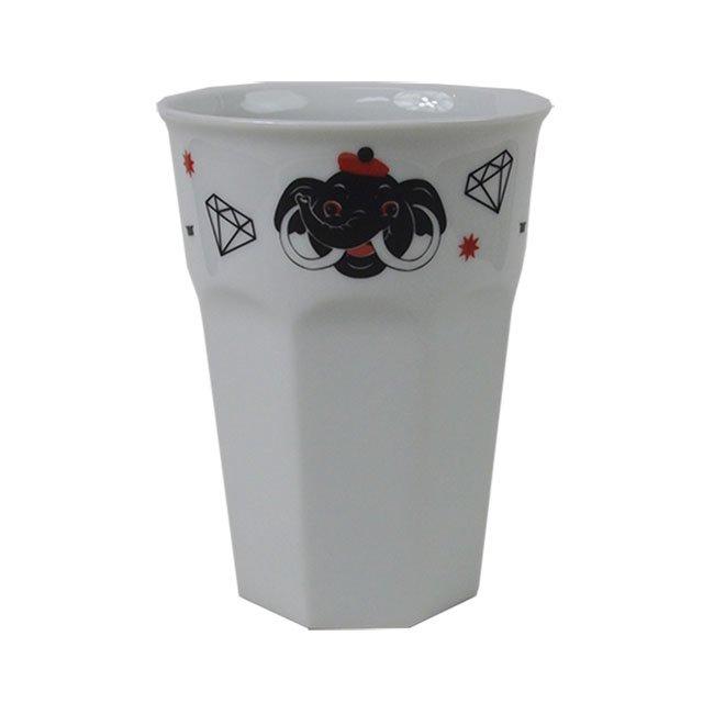 "RUTSUBO "" HASAMI ELEPHANT CUP "" WHITE"